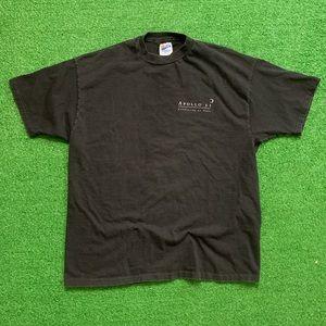 Vintage Shirts - Vintage Apollo 11 25th Anniversary Shirt